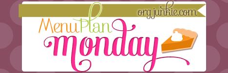 menu plan Monday September 3