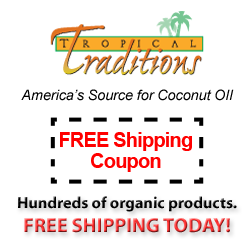 free shipping today ! tropical traditions