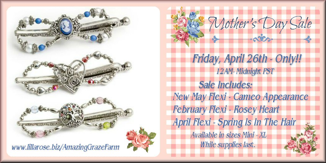 10% off today only at Lilla Rose!