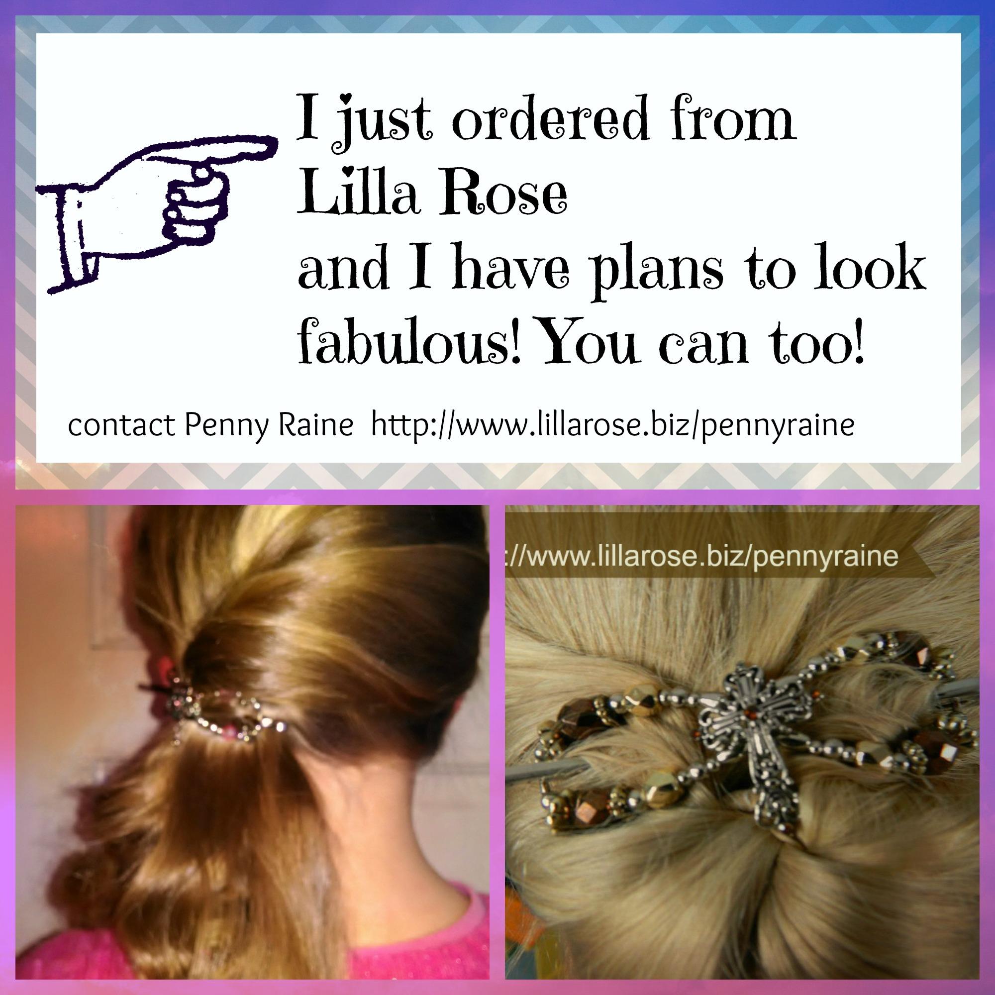 Flash Giveaway Lilla Rose Flexi Clip!!