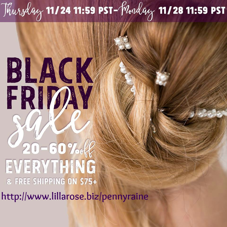 last day for our Lilla Rose sale