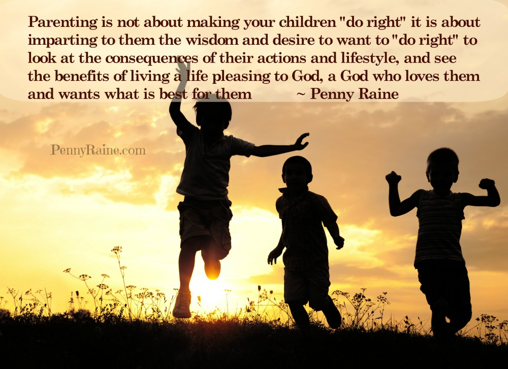 parenting to do right
