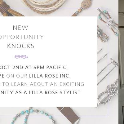 Lilla Rose Announcement tonight LIVE