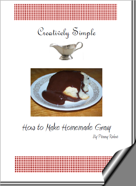 Creatively Simple – How to Make Homemade Gravy