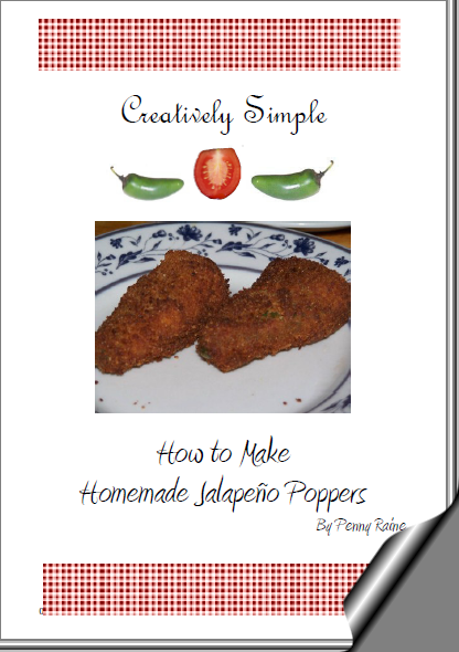 Creatively Simple – How to Make Homemade Jalapeño Poppers